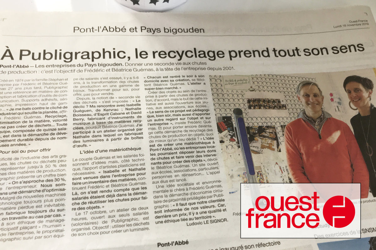 actu1911-article ouestfrance recyclage